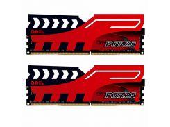Модуль памяти для компьютера DDR4 16GB (2x8GB) 2400 MHz FORZA Red GEIL (GFR416GB2400C16DC)
