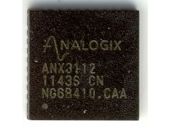 Микросхема Analogix ANX3112 DisplayPort Converter, конвертер LVDS с HP для ноутбука