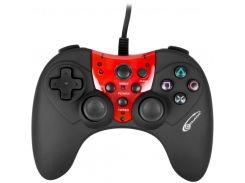 -#-Геймпад GEMIX GP-60 black/red