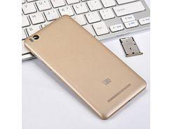Задняя крышка Xiaomi Mi4с золотистая
