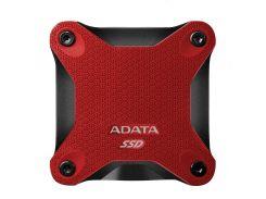 Накопитель SSD USB 3.1 256GB ADATA (ASD600-256GU31-CRD)