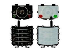 Клавиатура для мобильного телефона Motorola Z3, черная, английская, нижняя, верхняя