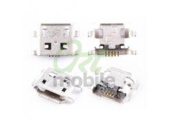 Разъем зарядки Huawei G510 (U8951)/G520/Y300/Y530;Alcatel 6045, micro-USB