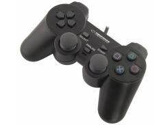 Геймпад Esperanza EG106 Black, USB, 12 кнопок