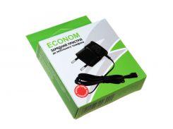 Сетевое зарядное устройство Nokia AC-6E (Econom), Black, microUSB, 5V / 500mA (EC-9000)