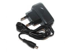 Сетевое зарядное устройство Nokia AC-6E (Enegro Plus), Black, microUSB, 5V / 600mA