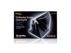 Чистящий набор ColorWay Premium для TV панелей и экранов мониторов (CW-9116)