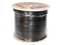 Кабель TV 75 Ом коаксиальный Dialan (305м) Black