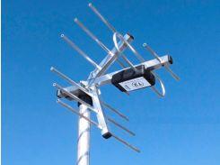 TV-антенна эфирная DVB-T/T2 DVB_12КА, 12dBi, 250\300мм, 0.45кг