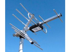 TV-антенна эфирная DVB-T/T2 DVB_13КА,12 dBi, 350\300мм, 0.45кг