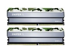 Память 8Gb x 2 (16Gb Kit) DDR4, 3000 MHz, G.Skill Sniper X, 16-18-18-38, 1.35V, с радиатором (F4-3000C16D-16GSXFB)