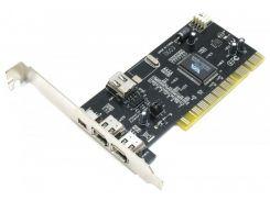Контроллер PCI - IEEE1394 3+1port с кабелем