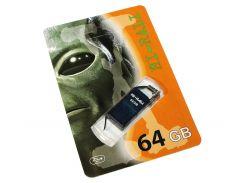 USB Flash Drive 64Gb Hi-Rali Thor series Blue, HI-64GBTHBL