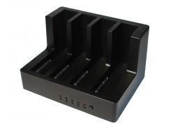 """Док-станция 2,5""""/3,5"""" Maiwo K3094 для 4*HDD 2,5""""/3,5"""" SATA/SSD через USB3.0 безвинтов. крепл."""