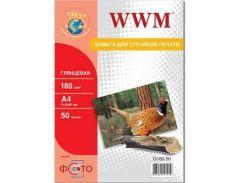 Бумага WWM A4 (G180.50)