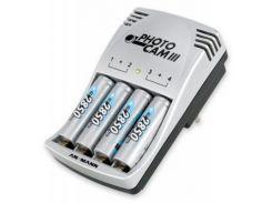 Зарядное устройство для аккумуляторов PhotoCam III + 4*AA 2850mAh Ansmann (5007093)