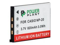 Аккумулятор к фото/видео PowerPlant Casio NP-20 (DV00DV1042)