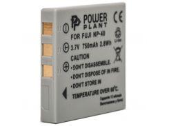 Аккумулятор к фото/видео PowerPlant Fuji NP-40, KLIC-7005,D-Li8/ Li-18, Samsung SB-L0737 (DV00DV1046)