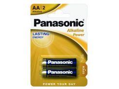 Батарейка PANASONIC LR06 Alkaline Power * 2 (LR6REB/2BP)