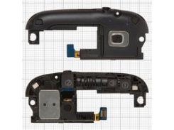 Звонок для мобильного телефона Samsung I9300 Galaxy S3, с разъёмом наушников, с антенной, черный