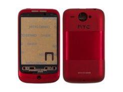 Корпус для мобильного телефона HTC A3333 Wildfire, красный