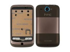 Корпус для мобильного телефона HTC A3333 Wildfire, коричневый