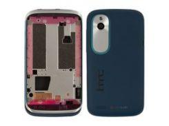 Корпус для мобильного телефона HTC T328w Desire V, синий