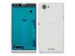 Корпус для мобильных телефонов Sony C2104 S36 Xperia L, C2105 S36h Xperia L, белый