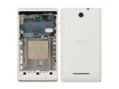 Корпус для мобильных телефонов Sony C1503 Xperia E, C1504 Xperia E, C1505 Xperia E, белый