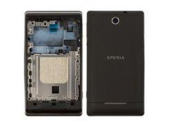 Корпус для мобильных телефонов Sony C1503 Xperia E, C1504 Xperia E, C1505 Xperia E, черный