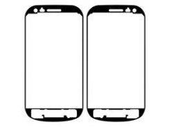 Стикер тачскрина панели (двухсторонний скотч) для мобильного телефона Samsung I8190 Galaxy S3 mini