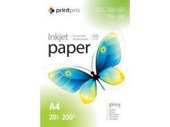Бумага PrintPro A4 (PGE200020A4)