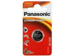 Батарейка PANASONIC CR 2032 Lithium * 1 (CR-2032EL/1B)
