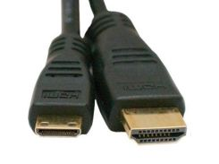 Кабель мультимедийный HDMI A to HDMI C (mini), 0.5m EXTRADIGITAL (KD00AS1520)