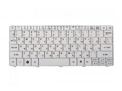 Клавиатура для ноутбука ACER (One: 521, 522, 532, 533, D255, D257, D260, D270, Happy, EM: 350, 355), rus, white