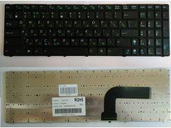 Клавиатура для ноутбука ASUS (A52, K52, X54, N53, N61, N73, N90, P53, X54, X55, X61), rus, black (K52 version)