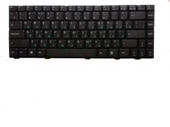 Клавиатура для ноутбука ASUS (F80, F83, X82, X88 Lamborghini VX2, BENQ: R45, R47) rus, black