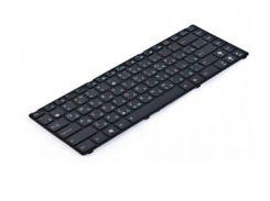 Клавиатура для ноутбука ASUS (U20, UL20, Eee PC 1201, 1215, 1225), rus, black, black frame