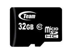 Карта памяти Team 32GB microSD class 10 (TUSDH32GCL1002)