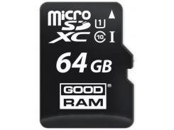 Карта памяти GOODRAM 64GB microSDXC class 10 (M1A4-0640R11)