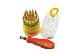 Набор отверток JACKLY JK-6036A (31 насадка + ручка)