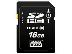 Карта памяти GOODRAM 16GB SDHC class 10 (S1A0-0160R11)