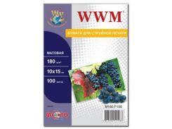 Бумага WWM 10x15 (M180.F100)