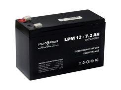 Батарея к ИБП LogicPower LPM 12В 7.2 Ач (3863)
