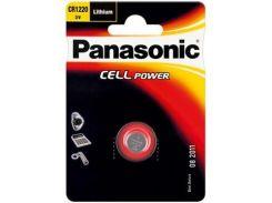Батарейка PANASONIC CR 1220 * 1 LITHIUM (CR-1220EL/1B)