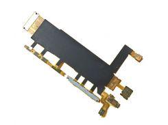 Шлейф (Flat cable) Sony D6633 Xperia Z3 DS с кнопкой вкл, громкости, микрофоном вибро