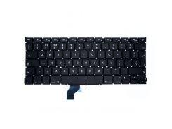 Клавиатура для ноутбука APPLE (MacBook Pro Retina: A1502 (2013-2015)) rus, black, BIG Enter
