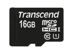 Карта памяти Transcend 16Gb microSDHC Class10 UHS-I (TS16GUSDCU1)