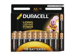 Батарейка Duracell AA MN1500 LR06 * 18 (5000394107519 / 81545414)