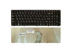Клавиатура Lenovo IdeaPad Y570, черная